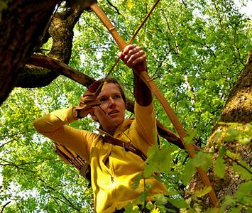 Freizeit Artchers Land Hammerstein Park Bogenschießen