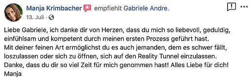 Bewusstseinstraining Gabriele Andre