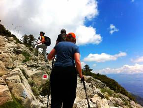 Time to enjoy mountain Taygetos!