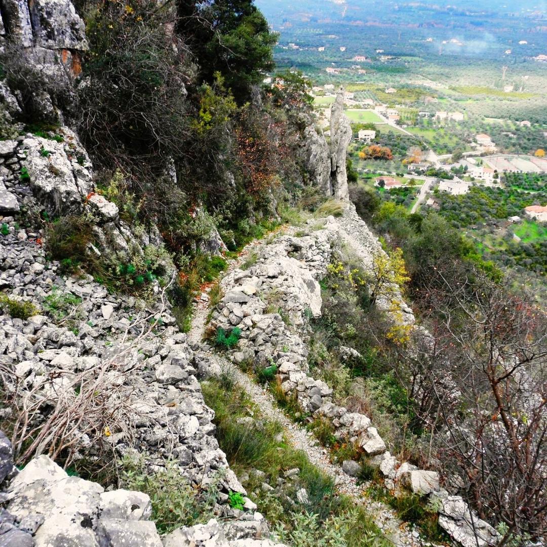 old stone path
