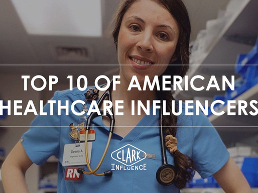 Top 10 of American healthcare influencers
