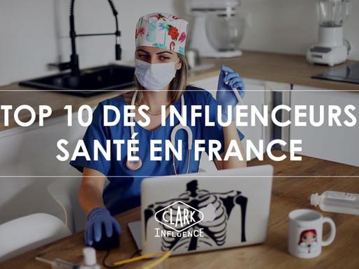 Top 10 des influenceurs santé en France