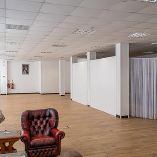 Atlas Studios White room- prop room door