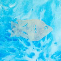 ねむい金魚(シルバー)
