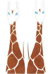 ふたごのきりん/Giraffe Twins