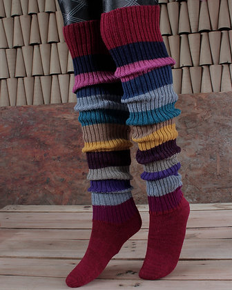 Sock and Leg Warmers Alpaca Knit