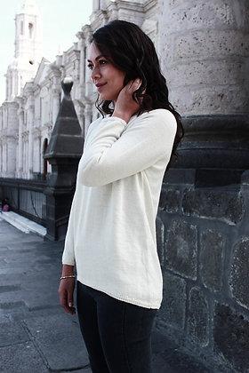 Cris Jersey Alpaca Sweater
