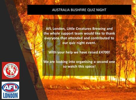 Great Success at the Bushfire fundraiser