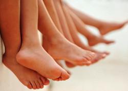 Onderbeen en voetmassage