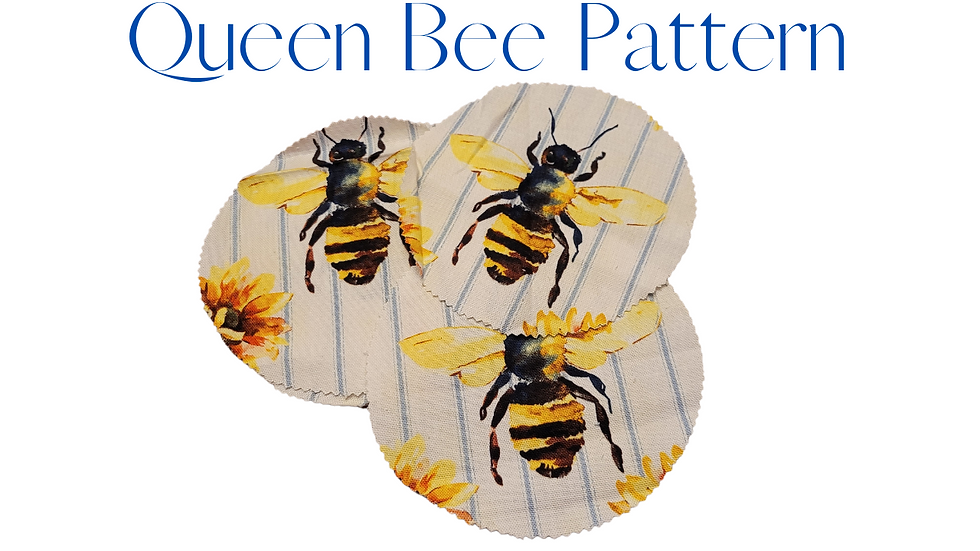 Queen Bee Mason Jar Cover Wide Mouth