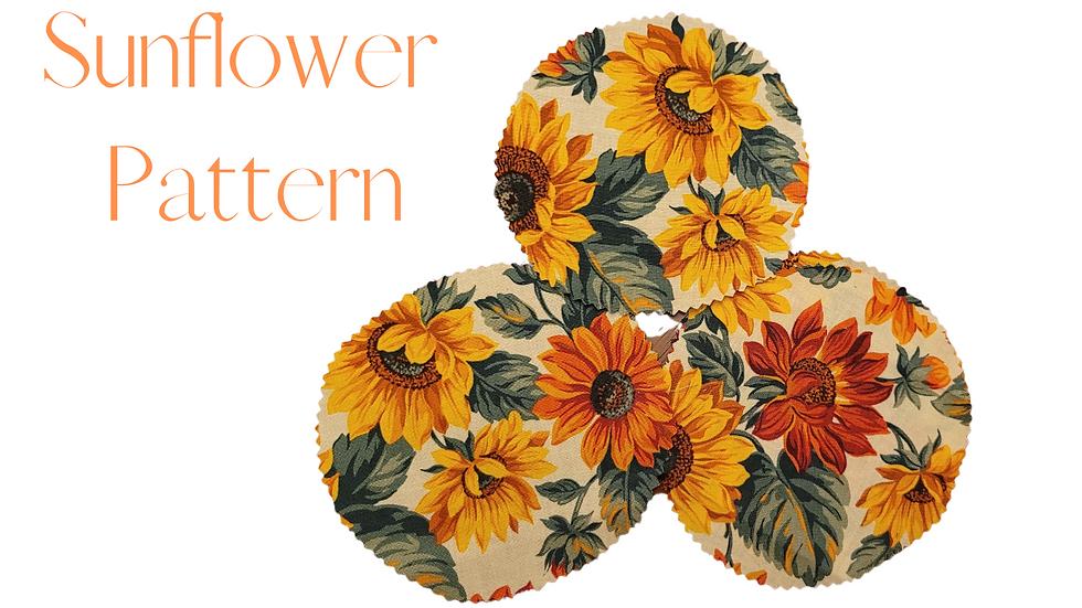 Sunflower Mason Jar Cover