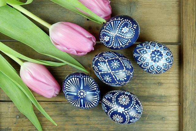 10 Modi per decorare le uova di Pasqua