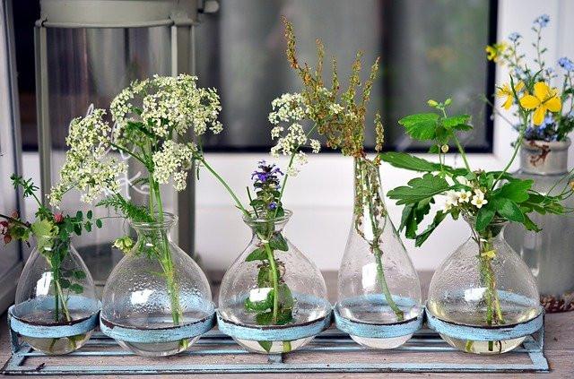 Come arredare casa con i vasi di fiori