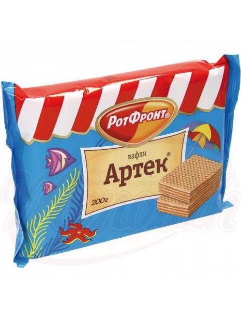 """Вафли """"Артек"""" с кремовой начинкой с шоколадным вкусом 200g"""