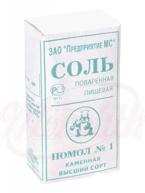 Соль поваренная пищевая 1kg