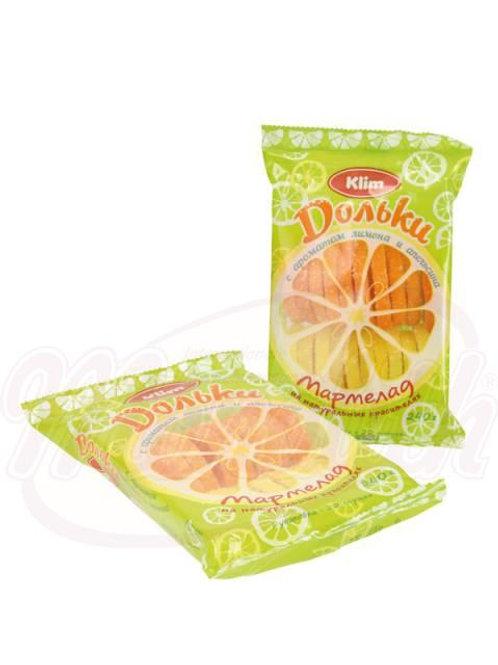 """Мармелад желейный """"Лимонно-Апельсиновые дольки"""" 240g"""
