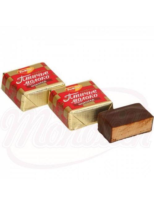 ***Конфеты со всбитым корпусом со вкусом шоколада,100g