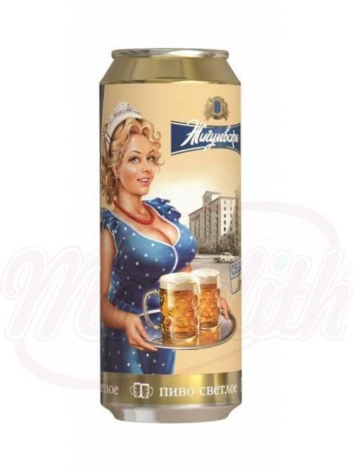 """Пиво светлое """"Жигулевское Фирменное"""" 4,5% vol. 0.9l"""