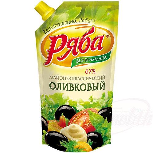 """Майонез """"Ряба -Классический Оливковый 215мл"""