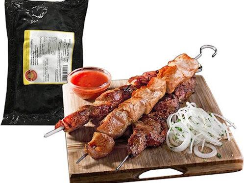 Шашлык из свиной шейки замороженный 2,5kг