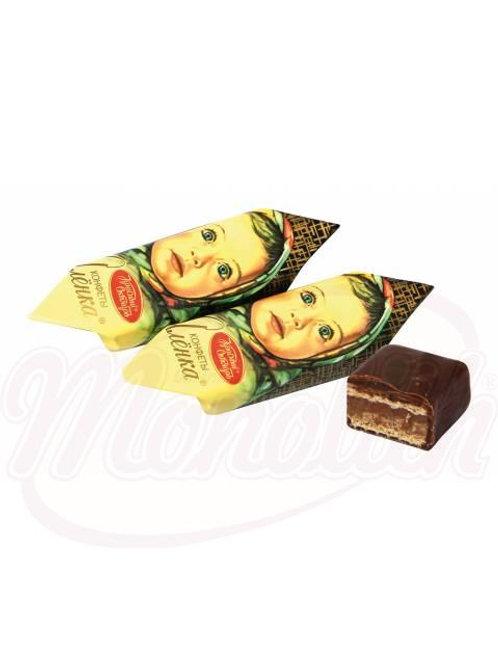 """Вафельные конфеты """"Алёнка"""" с пралиновым кремом100g"""