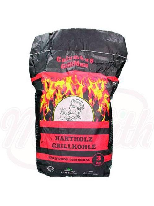 Древесный уголь для гриля 3kg