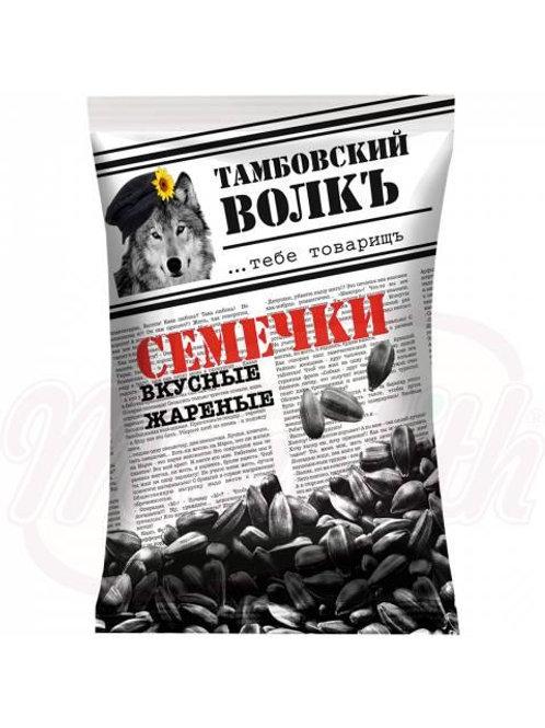 """Семечки черные жареные """"Тамбовский волкъ""""190g"""