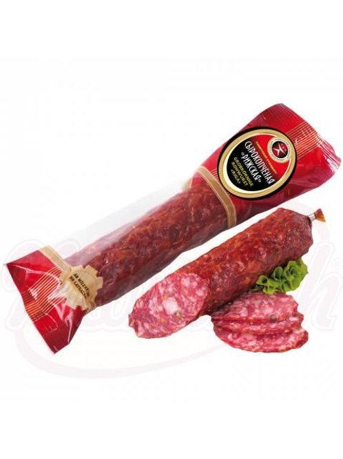 ***Сырокопчёная колбаса Рижская (Резеkнeнская)250г