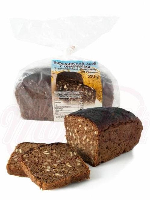 Бородинский хлеб с семечками 350g