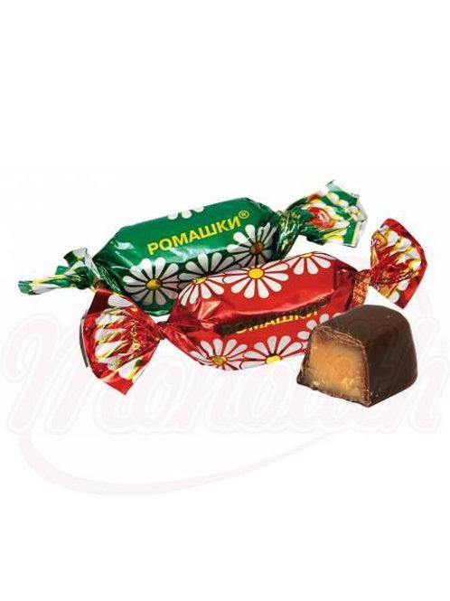 """Помадные конфеты """"Ромашки"""" 100g"""