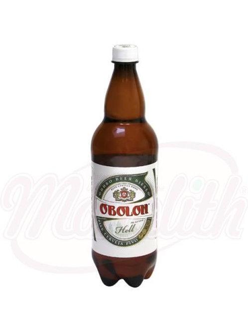 """Пиво """"Оболонь"""" светлое пастеризованное 4,5% алк. 1l"""