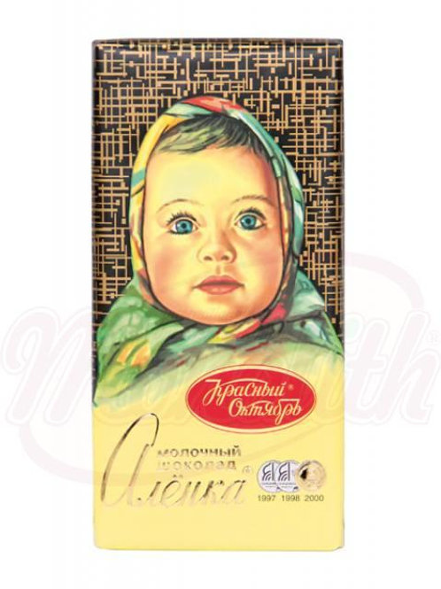"***Молочный шоколад ""Алёнка"" 100g-14Stuk"
