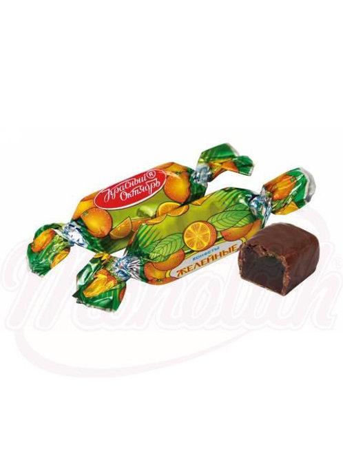 """Конфеты """"Желейные"""" со вкусом апельсина 100g"""