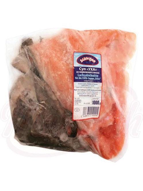 """Суп """"Уха"""" из норвежского лосося 1kg"""