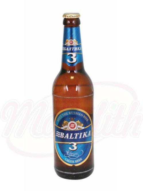 "Пиво ""Балтика №3"" 4,8% алк. 0.5l"