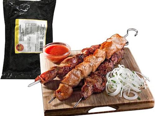 КАТЮША Шашлык из свиной шейки замороженный 1kг