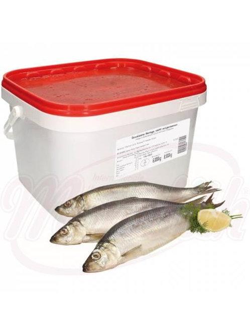 Сельдь непотрошеная, соленая 8.5kg