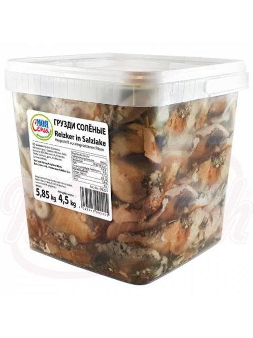 Грузди солёные 4.5kg