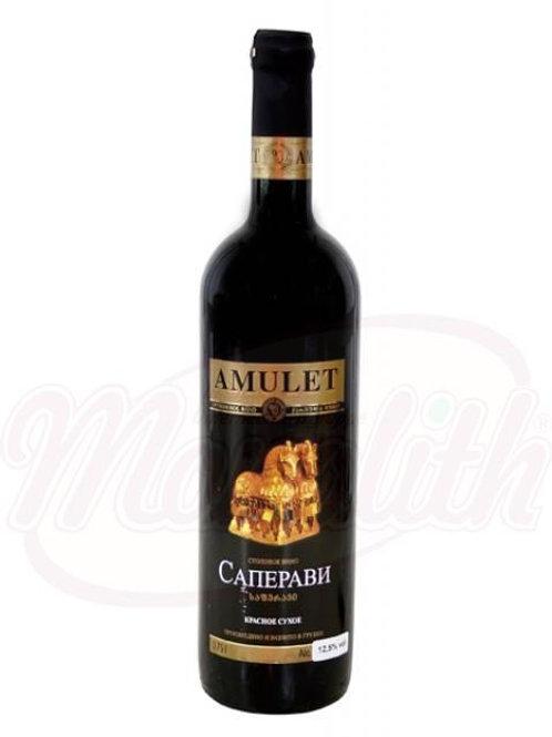 """Грузинское красное вино """"Саперави"""" 12% сухое"""