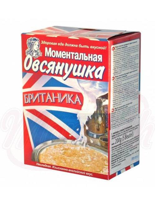"""Моментальная овсянушка """"Британика"""" 200g"""
