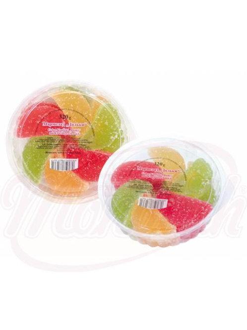 "***Желейны конфеты ""Мармеладные дольки 320g"