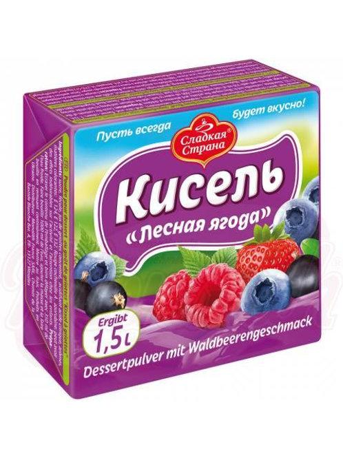 Кисель Лесная ягода земляника 225г