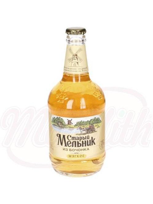 """Пиво """"Старый мельник"""" бочковое, мягкое 4,3% алк. 0.5l"""