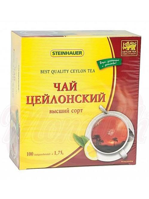 Чай цейлонский 175g -100pak