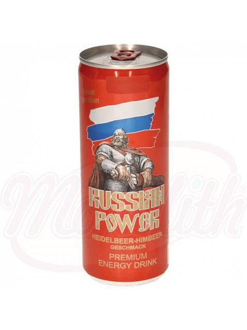 "Кофеиносодержащий напиток со вкусом черники ""Russian Power"" 250ml"