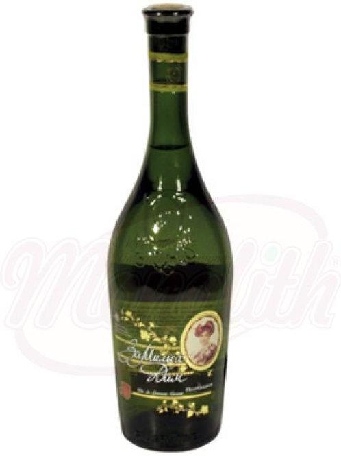 """Белое вино """"За Милых Дам"""" п/сладкое, 12% алк. 0.75l"""