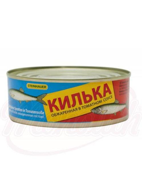 ***Килька обжаренная в томатном соусе 240g