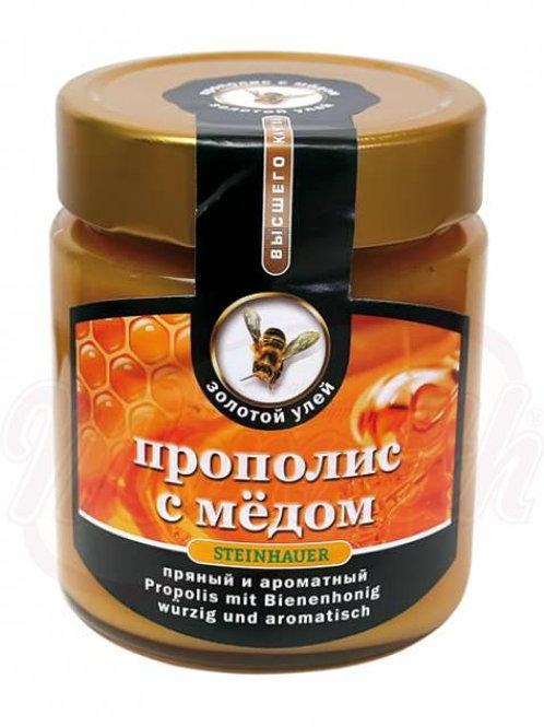 Мёд с прополисом 500g