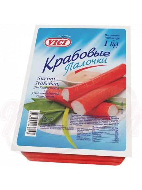 Крабовые палочки замороженные 1`kg