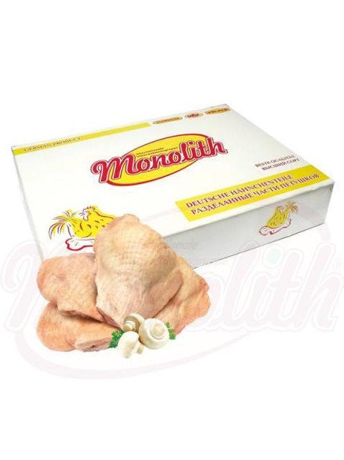 Куриные окорочка со спинкой замороженные 8kg